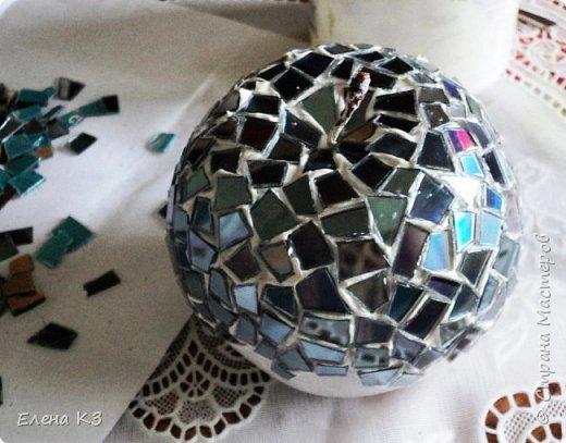 Мастер-класс Поделка изделие Моделирование конструирование Зеркальное яблочко фото 8