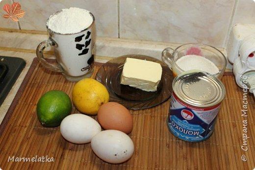 """Оболденный лаймовый пирог!!! Аромат на весь дом!!! Рецепт нашла в группе """"Хочу пирог""""! Еще не раз его приготовлю, только добавлю побольше лайма и в тесто и в начинку... Любителям лимонных пирогов советую приготовить, не пожалеете! фото 2"""