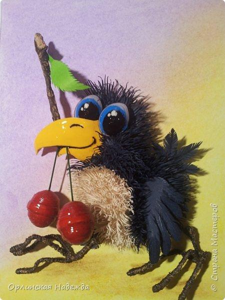 Картина панно рисунок Мастер-класс Бумагопластика Квиллинг ПТИЦА СЧАСТЬЯ Бумага Клей Проволока Шпагат фото 39