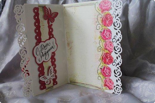 Выставляю на ваш суд серию женских открыток. Сделаны они в разное время. фото 6