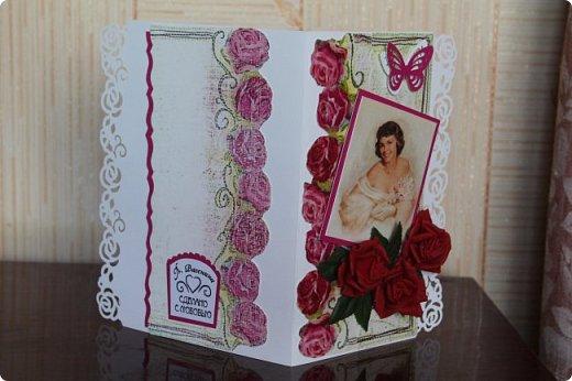 Выставляю на ваш суд серию женских открыток. Сделаны они в разное время. фото 8