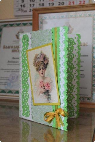 Выставляю на ваш суд серию женских открыток. Сделаны они в разное время. фото 3