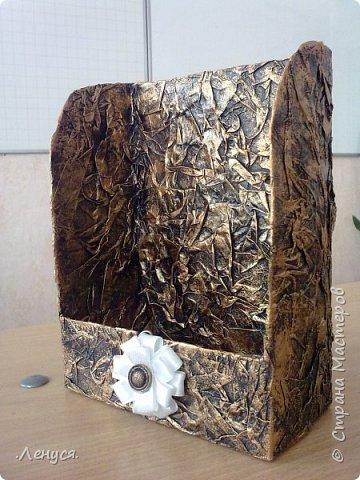 Первая стойка. Сделана из картонной трубы и бумаги. фото 4