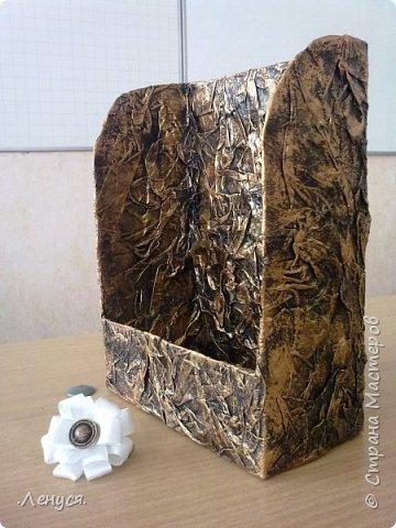 Первая стойка. Сделана из картонной трубы и бумаги. фото 5