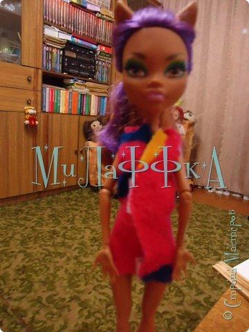 Привет всем давно я не делала эти МК  В этом выпуске я покажу вам как сшить халат for doll за 15 минут  фото 9