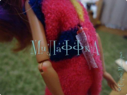 Привет всем давно я не делала эти МК  В этом выпуске я покажу вам как сшить халат for doll за 15 минут  фото 10