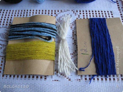 Мастер-класс Поделка изделие Синичка Бусины Клей Проволока Пряжа Семена фото 2