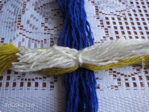 Мастер-класс Поделка изделие Синичка Бусины Клей Проволока Пряжа Семена фото 4