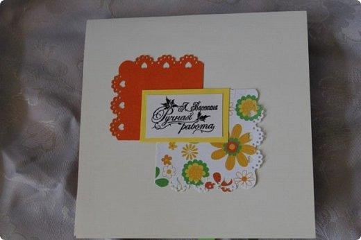 Сегодня я выставляю на ваш суд разные открытки и по тематике, и по времени изготовления. Эта была сделана для девушки на 17 лет. Я ее слепила из того что было. Хотелось что-нибудь нежное. фото 8