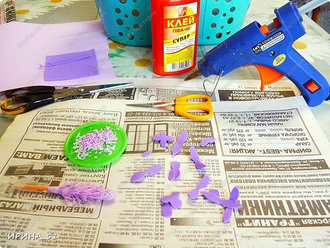 Здравствуйте! Пока ждала МК от одной из мастериц нашей страны, решила сделать лаванду самостоятельно. Делюсь с Вами процессом  изготовления, может кому-нибудь пригодится. фото 2