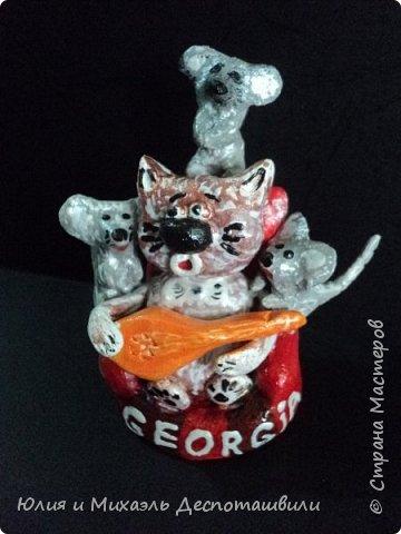 Кот и мышки: грузинское многоголосие )))