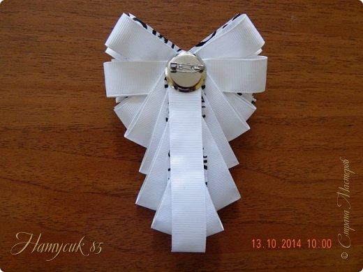 Мастер-класс Украшение Моделирование конструирование Брошь-жабо МК Клей Ленты фото 21