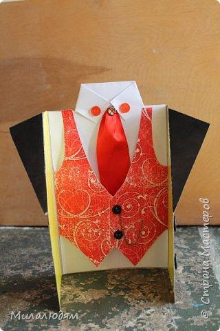 Здравствуйте мастера и мастерицы, и просто с интересом смотрящие! В предыдущей папке я выставляла самые первые работы - валентинки, с которых началось мое увлечение. А после валентинок пришли рубашки и пиджачки.  фото 10
