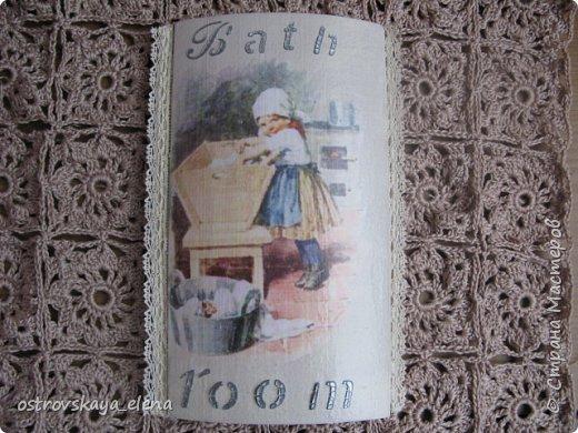 """""""Кофейный"""" комплект сделала в подарок своей знакомой: часы, подвеска и топиарий. фото 15"""