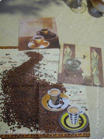 """""""Кофейный"""" комплект сделала в подарок своей знакомой: часы, подвеска и топиарий. фото 3"""