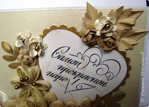 Доброго времени суток всем! Сегодня покажу три свадебных открыточки. фото 5