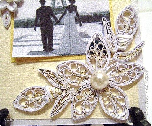 Доброго времени суток всем! Сегодня покажу три свадебных открыточки. фото 12