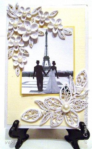 Доброго времени суток всем! Сегодня покажу три свадебных открыточки. фото 10