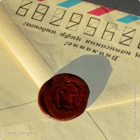 Как имитировать сургучные печати для оформления поздравительных открыток, скрапбукинга, писем, приглашений, любовных посланий, и кукольных миниатюр... фото 14
