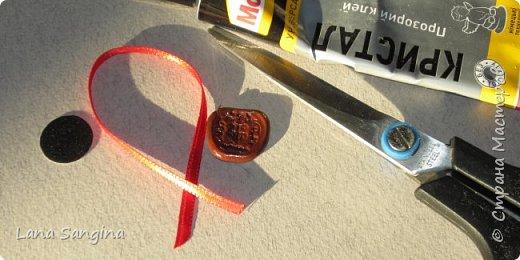 Как имитировать сургучные печати для оформления поздравительных открыток, скрапбукинга, писем, приглашений, любовных посланий, и кукольных миниатюр... фото 10