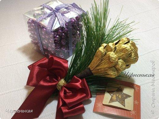 Мастер-класс Новый год Шишки из конфет мастер класс Бумага гофрированная фото 12