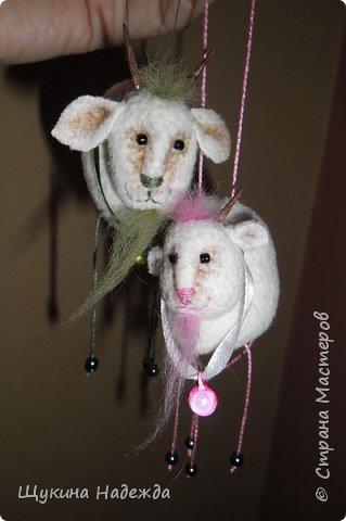 Мастер-класс Новый год Шитьё Мастер-класс козлик Яша + коза Маша Ткань фото 1