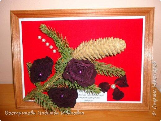 Цветы из луковой щелухи фото 5