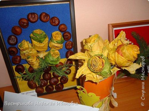Цветы из луковой щелухи фото 6