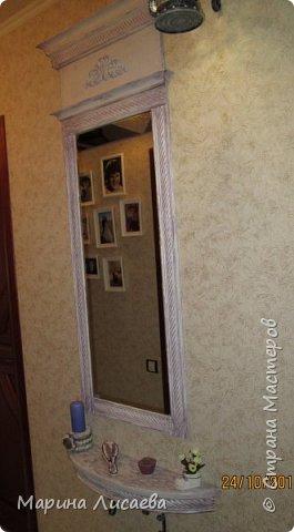 Здравствуйте, мои дорогие жители СМ! Сегодня я вам показываю прихожую в новом декоре. Правда прихожей ее назвать сложновато: коридор шириной чуть более метра, но... и тут хочется красоты. Вот такая она стала.  фото 7