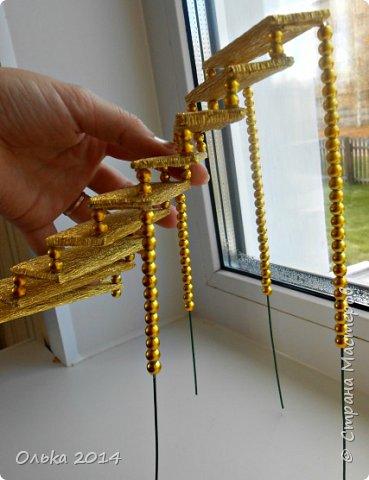 Мастер-класс Свит-дизайн День рождения Моделирование конструирование Лестница успеха и как я её делала  Бумага гофрированная фото 16