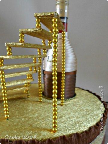 Мастер-класс Свит-дизайн День рождения Моделирование конструирование Лестница успеха и как я её делала  Бумага гофрированная фото 18
