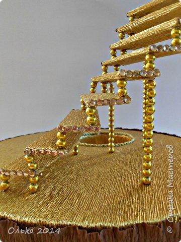 Мастер-класс Свит-дизайн День рождения Моделирование конструирование Лестница успеха и как я её делала  Бумага гофрированная фото 19
