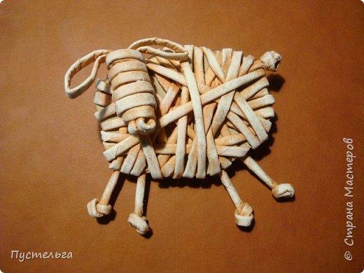 Представляю вам продукт коллективного разума - овца прянишная и коза зелёная! Идеи мастериц Юлии Волковой и Натальи Петлюк в моём исполнении. фото 1