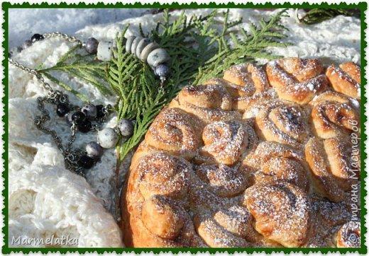 Кулинария Мастер-класс Рецепт кулинарный Пирог Розы с корицей Продукты пищевые фото 1