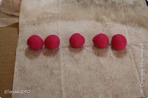 Мастер-класс Флористика искусственная Лепка Шкатулка украшенная цветами из полимерной глины + небольшой мк Глина фото 7