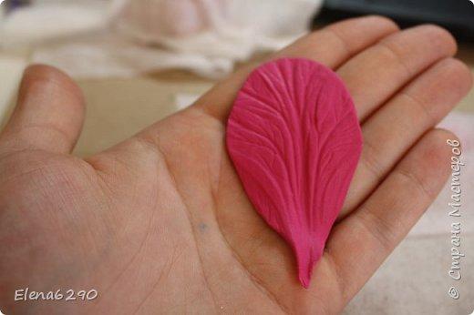 Мастер-класс Флористика искусственная Лепка Шкатулка украшенная цветами из полимерной глины + небольшой мк Глина фото 10