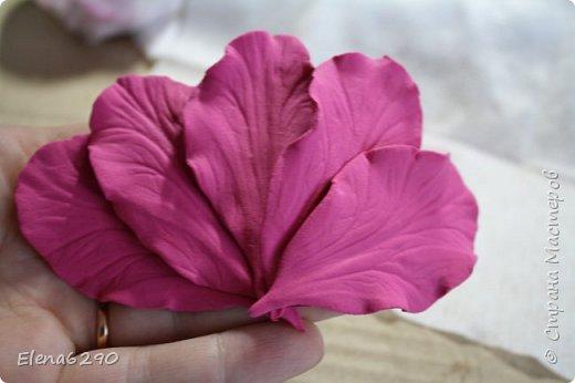 Мастер-класс Флористика искусственная Лепка Шкатулка украшенная цветами из полимерной глины + небольшой мк Глина фото 18