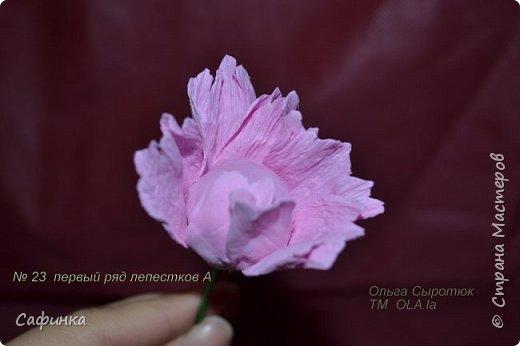 Здравствуйте,Страна Мастеров!!!  Вас приветствую, я Ольга Сыротюк (псевдоним Сафинка)   Предлагаю вашему вниманию свой мастер класс по созданию милого,нежного пиона...из Фоама...  Пион- цветок любви и нежности... фото 24