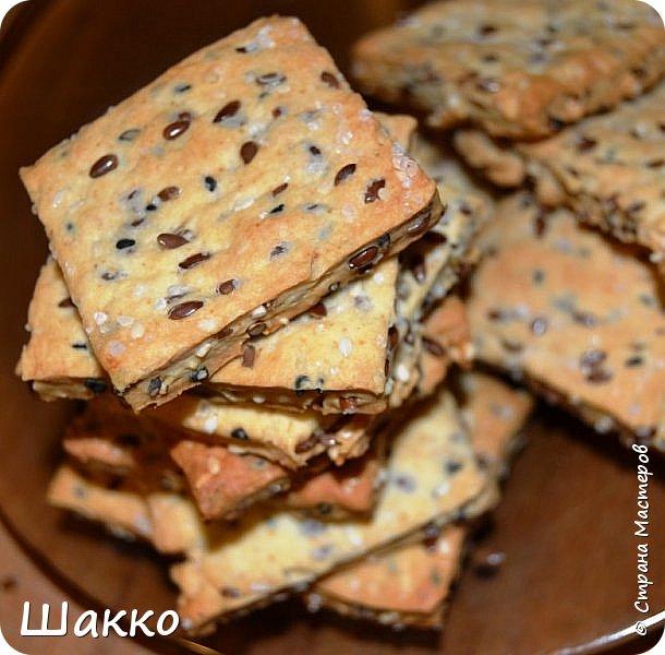 Кулинария Мастер-класс Рецепт кулинарный А сегодня печенька-крекер Зернышко МК Продукты пищевые фото 1