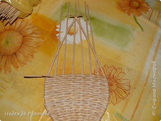 Поделка изделие Плетение МК к новым формам Трубочки бумажные фото 6