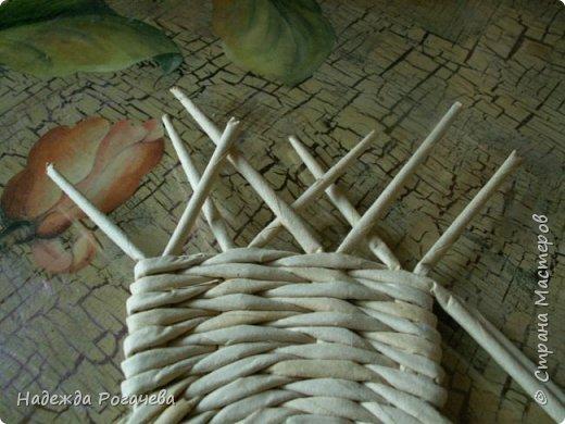 Поделка изделие Плетение МК к новым формам Трубочки бумажные фото 4