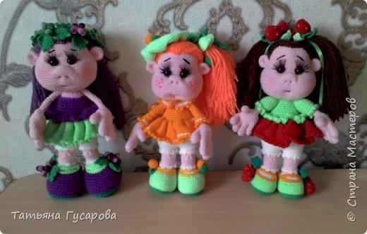 Куколки - ягодки по описанию Елены Беловой фото 1
