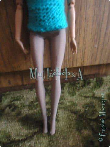 Привет всем! И это очередной выпуск! Теперь у нас есть обложка!!!!! В  этом выпуске колготки для куклы!) Как их щью я! БыСтРо и ЛеГкО! Нам понадобится ♥Капроновые носки ♥нитки и иголки ♥кукла ♥БеЗЗуМнО ХоРоШеЕ нАсТрОеНиЕ! фото 8