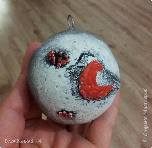 Привет, дорогая Страна!!! Я уже начинаю, потихоньку, готовится к Новому году:))) Сделала вот такой шарик на елочку, домашним очень понравился.....Теперь хочу поделиться с вами!!!  фото 15