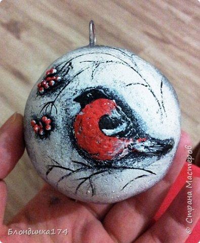 Привет, дорогая Страна!!! Я уже начинаю, потихоньку, готовится к Новому году:))) Сделала вот такой шарик на елочку, домашним очень понравился.....Теперь хочу поделиться с вами!!!  фото 17