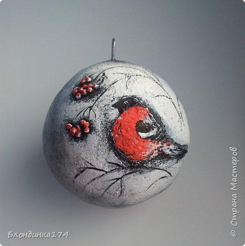 Привет, дорогая Страна!!! Я уже начинаю, потихоньку, готовится к Новому году:))) Сделала вот такой шарик на елочку, домашним очень понравился.....Теперь хочу поделиться с вами!!!  фото 3