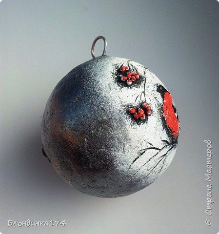 Привет, дорогая Страна!!! Я уже начинаю, потихоньку, готовится к Новому году:))) Сделала вот такой шарик на елочку, домашним очень понравился.....Теперь хочу поделиться с вами!!!  фото 4