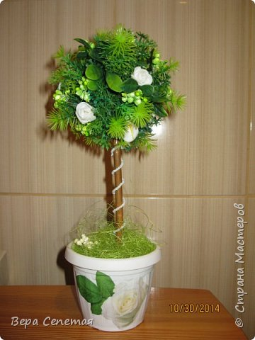 Зеленый топиарий