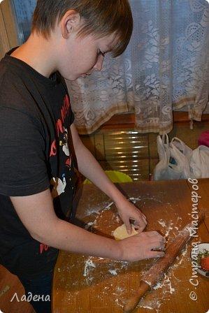 Кулинария Мастер-класс Рецепт кулинарный Булочки с чесноком и травами Продукты пищевые Тесто для выпечки фото 7