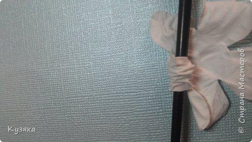 Мастер-класс Флористика искусственная Моделирование конструирование Мк экспресс - цветочков для скрапбукинга Бумага фото 14